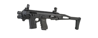 CAA Micro-Roni Chassis for Glock 17/22, CAA Micro-Roni, Micro-Roni, CAA, Glock 17, Glock 22, Carbine Chassis, Firearms Chassis, SBR, Short Barrel Rifle, 9mm Carbine