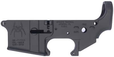 Spikes Tactical Spider Lower Receiver, Spikes Tactical Spider Lower, Spikes Tactical Lower, Spikes Lower, Spikes Stripped Lower