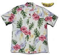 Honolulu Hibiscus Men'sHawaiian Shirt