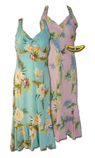 Princeville II Hawaiian Halter Dress