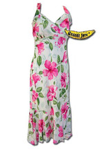 Royal Hawaiian Hibiscus Halter Dress
