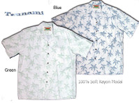 Tsunami Men's Hawaiian Shirts