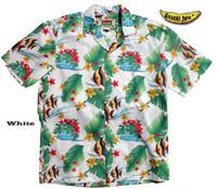 Kihikihi Fish (The Moorish Idol) Men's Aloha Shirt