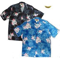 Vintage Orchid Men's Hawaiian Shirts
