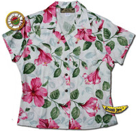 Royal Hawaiian Hibiscus Womens Fitted Shirt