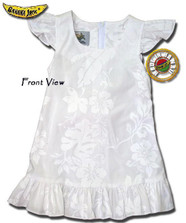 Girls Beach Wedding Hawaiian Dress