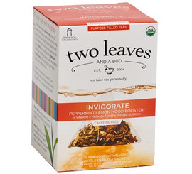 Two Leaves and a Bud - Organic Invigorate Purpose-Filled Tea