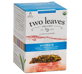 Two Leaves and a Bud - Organic Hydrate Purpose-Filled Tea