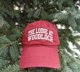 Cotton Cap Block Letter Logo - Redwood