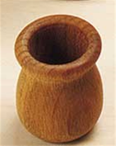 Large Candle Cup Oak