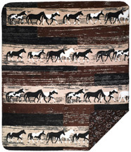 Horses Denali Microplush Throw