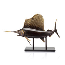 """Museum Salfish"" Trophy Sculpture by San Pacific"