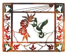 """Sunshine"" Hummingbird Wall Art"