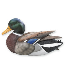 Miniature Mallard Duck Sculpture