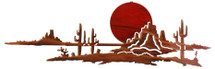 Arizona Sunset Metal Wall Art