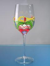 Orleans White Wine Glasses Set/4