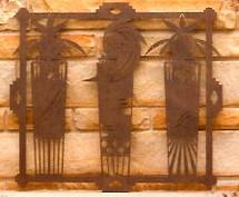 """""""Spirit Shaman"""" Metal Wall art"""
