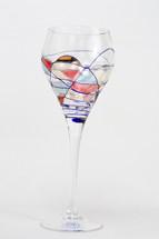Milano White Wine Glasses Set/4