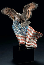 "Starlite Originals ""Reaching Higher"" Eagle Sculpture"