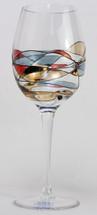 Milano Noir Oversize Red Wine Glasse Set/4