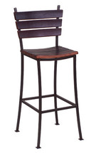 Stave Back Bar Stool