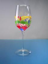 Orleans Red Wine Glasses Set/4