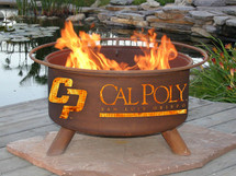 Patina Cal Poly Collegiate Portable Outdoor Fire Pit