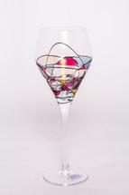 Milano Noir White Wine Glasses Set/4