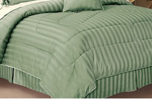 Combed cotton Stripe 300TC Bed Skirts