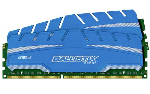 Crucial Ballistix SportXT 16GB kit (8GBx2) DDR3 PC3-12800
