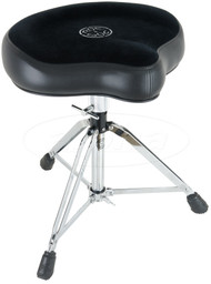 Roc-n-Soc Manual Spindles Original Drum Throne Complete, Black