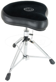 Roc-n-Soc Manual Spindles Hugger Drum Throne Complete, Black