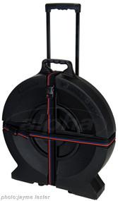 "Humes & Berg Enduro Series DR526ZTP 22"" Tilt-n-Pull Cymbal Case, Black"