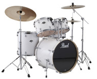 Pearl Export EXX725/C-33 Pure White 5pc Kit w/Hardware