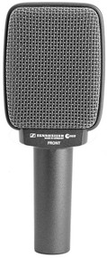 Sennheiser e609 Silver Front Address Super-Cardioid Instrument Microphone