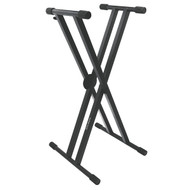 On Stage KS7291 Pro Heavy-Duty Double-X ERGO-LOK™Keyboard Stand