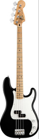 Fender Standard Precision Bass® Black Maple