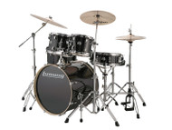 Ludwig Element Evolution 5PC w/Zildjian ZBT cymbals Black