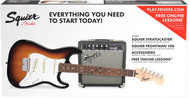 Fender Squier Strat Short-Scale Guitar Package