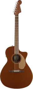 Fender Newporter Player Acoustic Rustic Copper