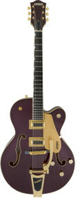 Gretsch G5420TG 135th Anniversary LTD Hollow Body, Two-Tone Dark Cherry Metallic/Casino Gold
