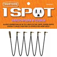 Truetone MC5 1 Spot Multi-Plug 5 Cable Daisy Chain