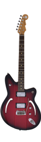 Reverend Airsonic W, Metallic Red Burst