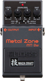 Boss MT-2W Waza Craft Metal Zone Distortion