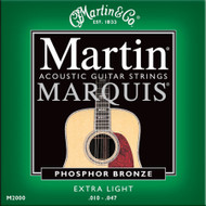 Martin M-2000 Marquis Phosphor Bronze Extra Light 10-47 Acoustic Guitar Strings