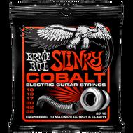 Ernie Ball 2715 Cobalt Slinky Skinny Top Heavy Bottom 10-52 Electric Guitar Strings