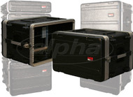 Gator Cases GR-6S 6-Space 19 inch Shallow Polyethylene Rack