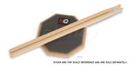SoundOff HQ RealFeel RF6D 2-Sided 6 inch Practice Pad