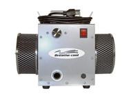 Supplied fresh air respirator turbine breathing pump