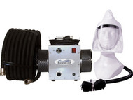Breathecool II Supplied Air Respirator System w/tyvek facepiece